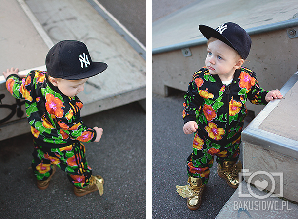 Moda Dziecięca Adidas Originals Baby Bakuś  (16)