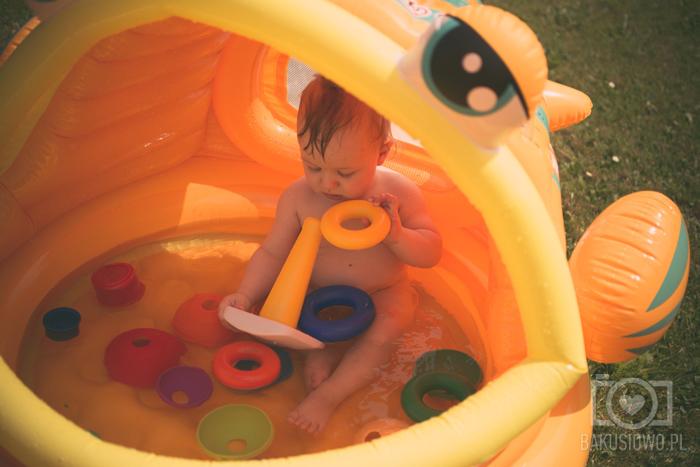 Blog Lifestylowy Parentingowy Modowy Dziecięcy Rodzinny Bakuś Bakusiowo Fisher Price Zabawy w Basenie (16)