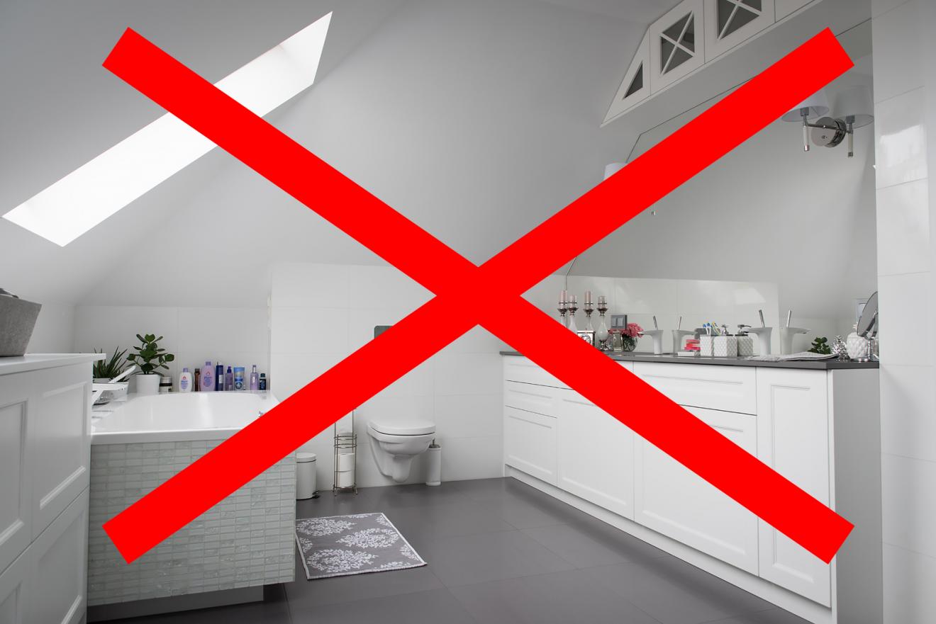 5 błędów, które popełniłam, urządzając naszą łazienkę.