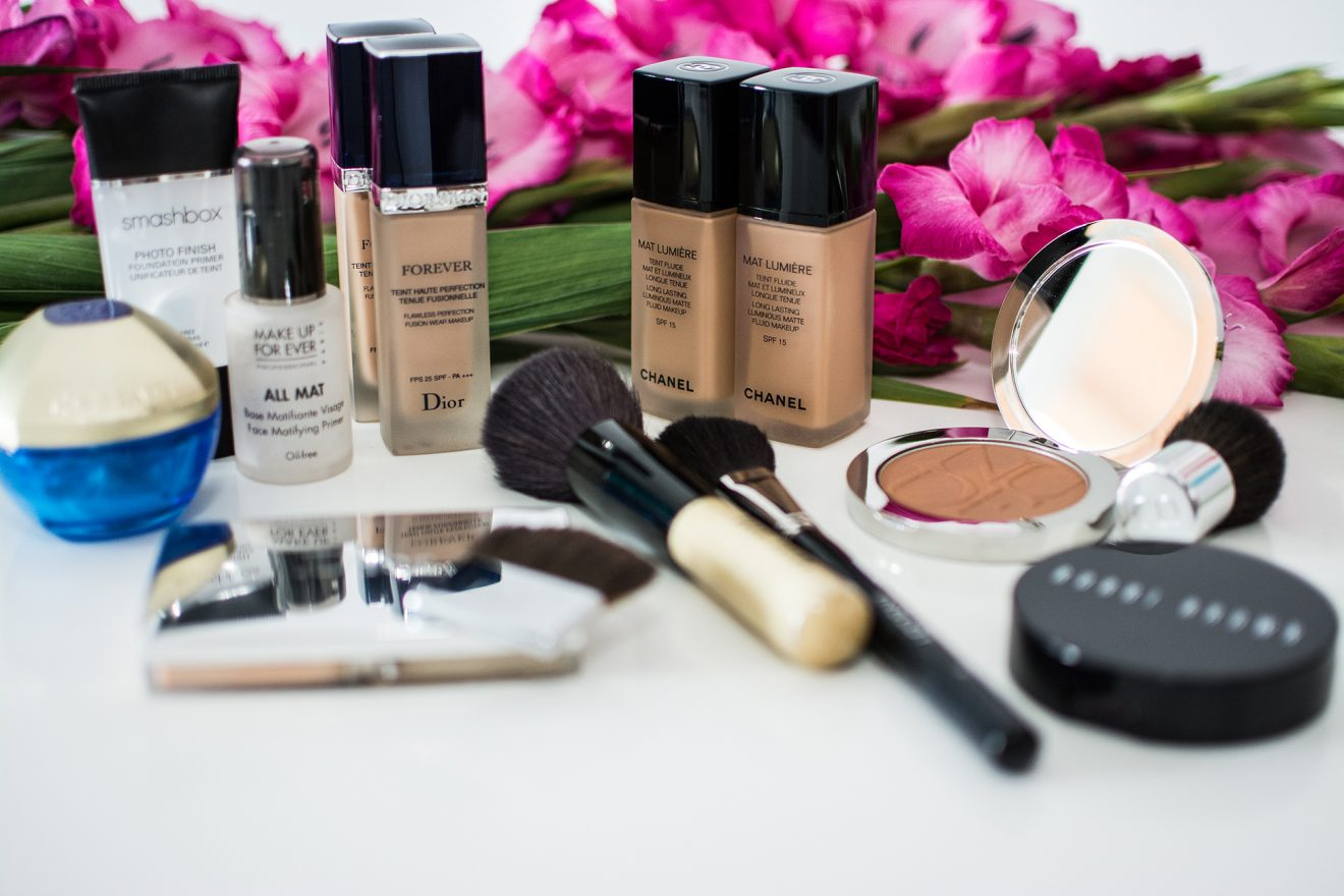 Moje ulubione kosmetyki do makijażu