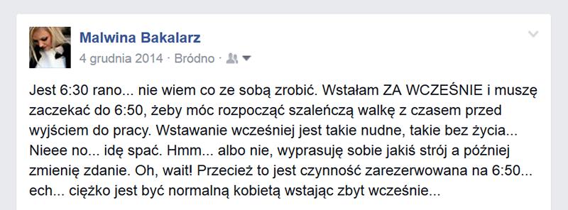 Facebook poranek