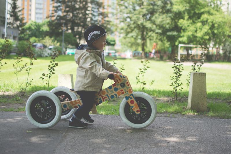 Rowerek drewniany biegowy Wishbone test blog dziecięcy blog modowy (15)