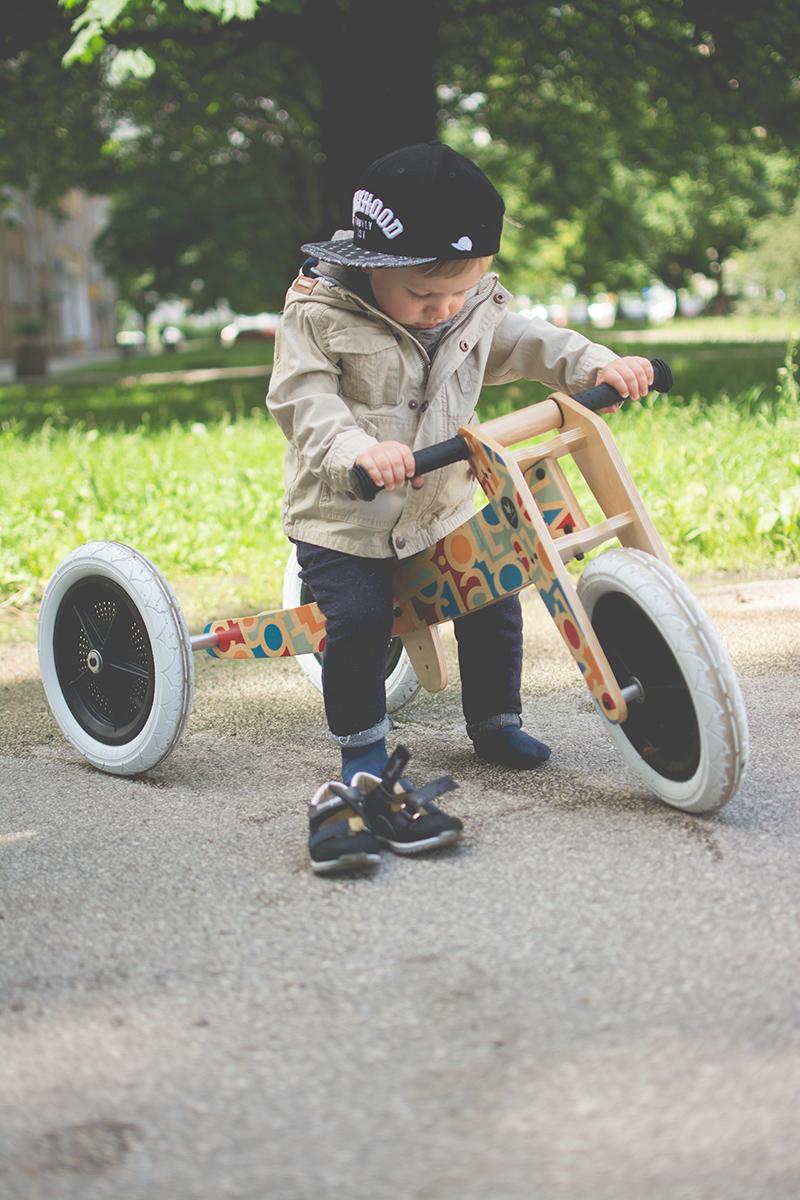 Rowerek drewniany biegowy Wishbone test blog dziecięcy blog modowy (23)