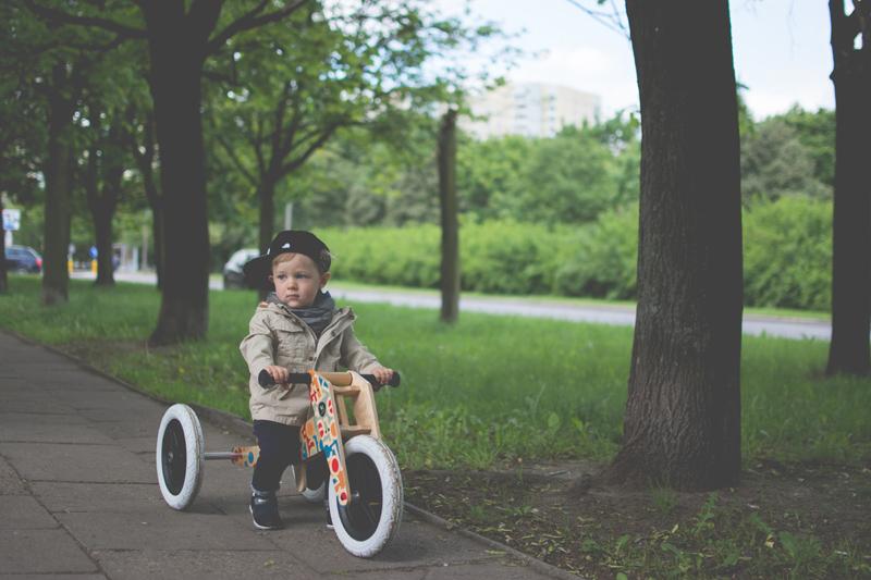 Rowerek drewniany biegowy Wishbone test blog dziecięcy blog modowy (25)