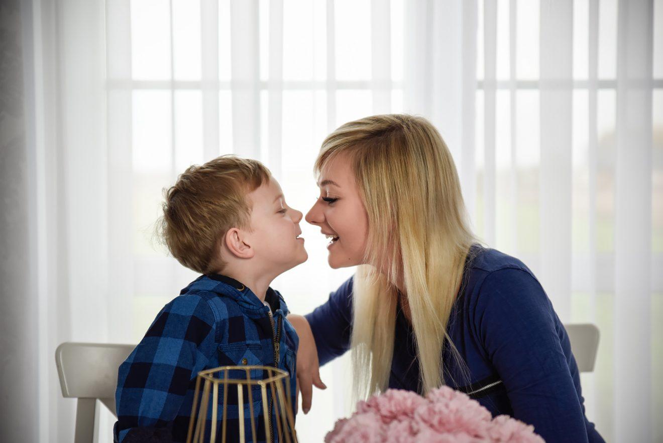 Nie chcę być mamą idealną. Chcę być po prostu dobrą mamą!