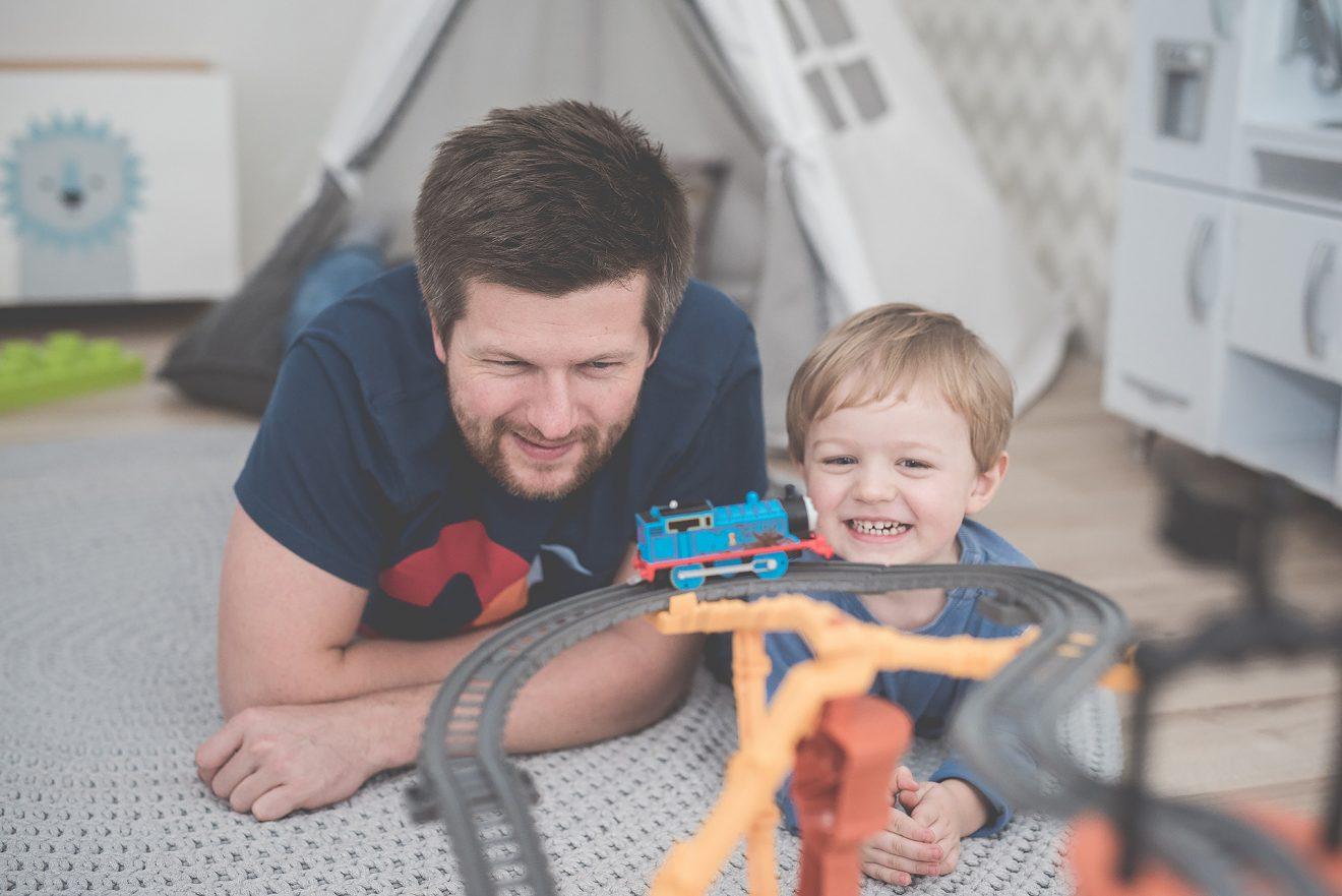 Najlepsze co możesz podarować dziecku to Twój czas.