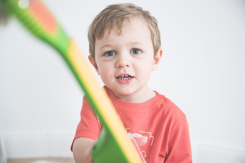 Bakusiowo Djeco Gitara dla Dziecka Instrumenty Mapa Naklejka -0796
