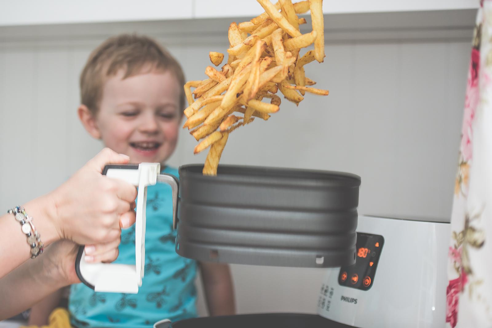Philips Airfryer Przepisy Test Bakusiowo Domowe Frytki KFC w domu00025