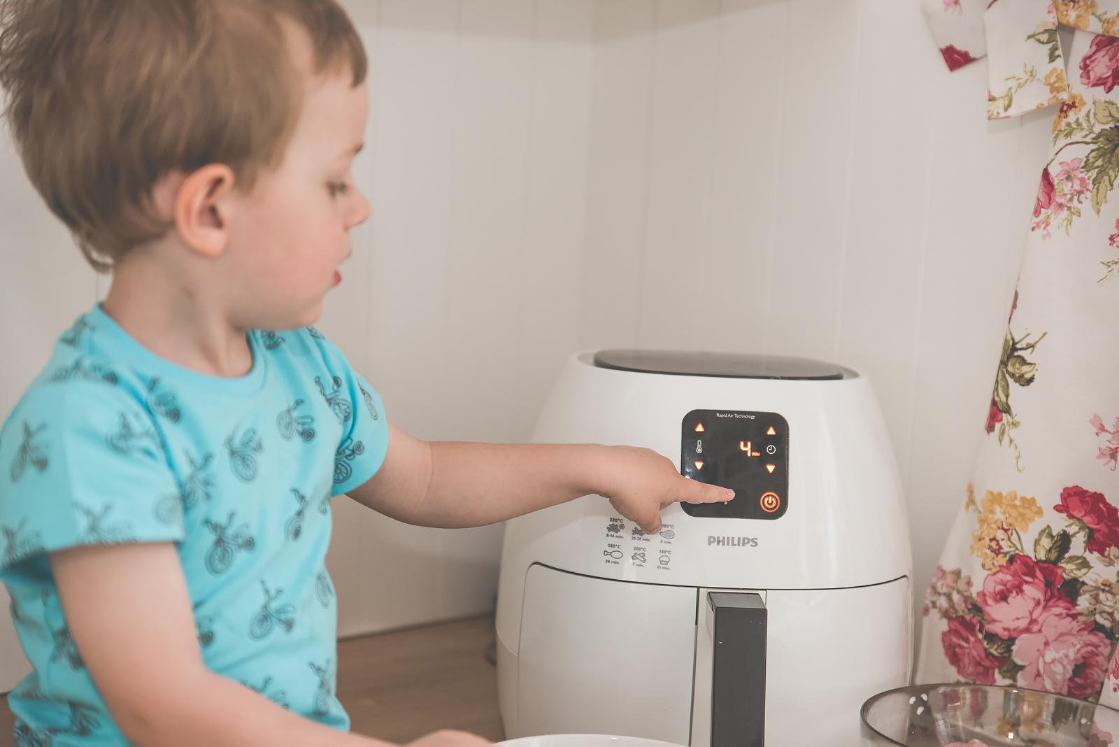Philips Airfryer Przepisy Test Bakusiowo Domowe Frytki KFC w domu00030