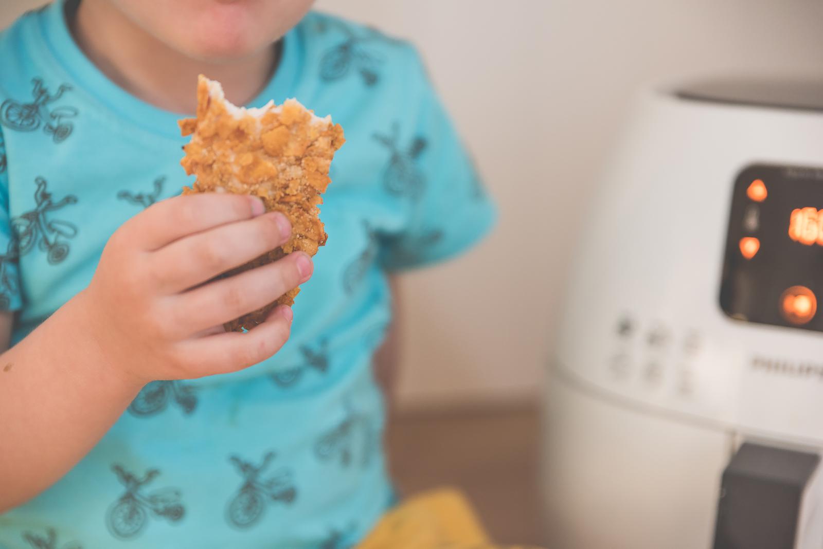 Philips Airfryer Przepisy Test Bakusiowo Domowe Frytki KFC w domu00037
