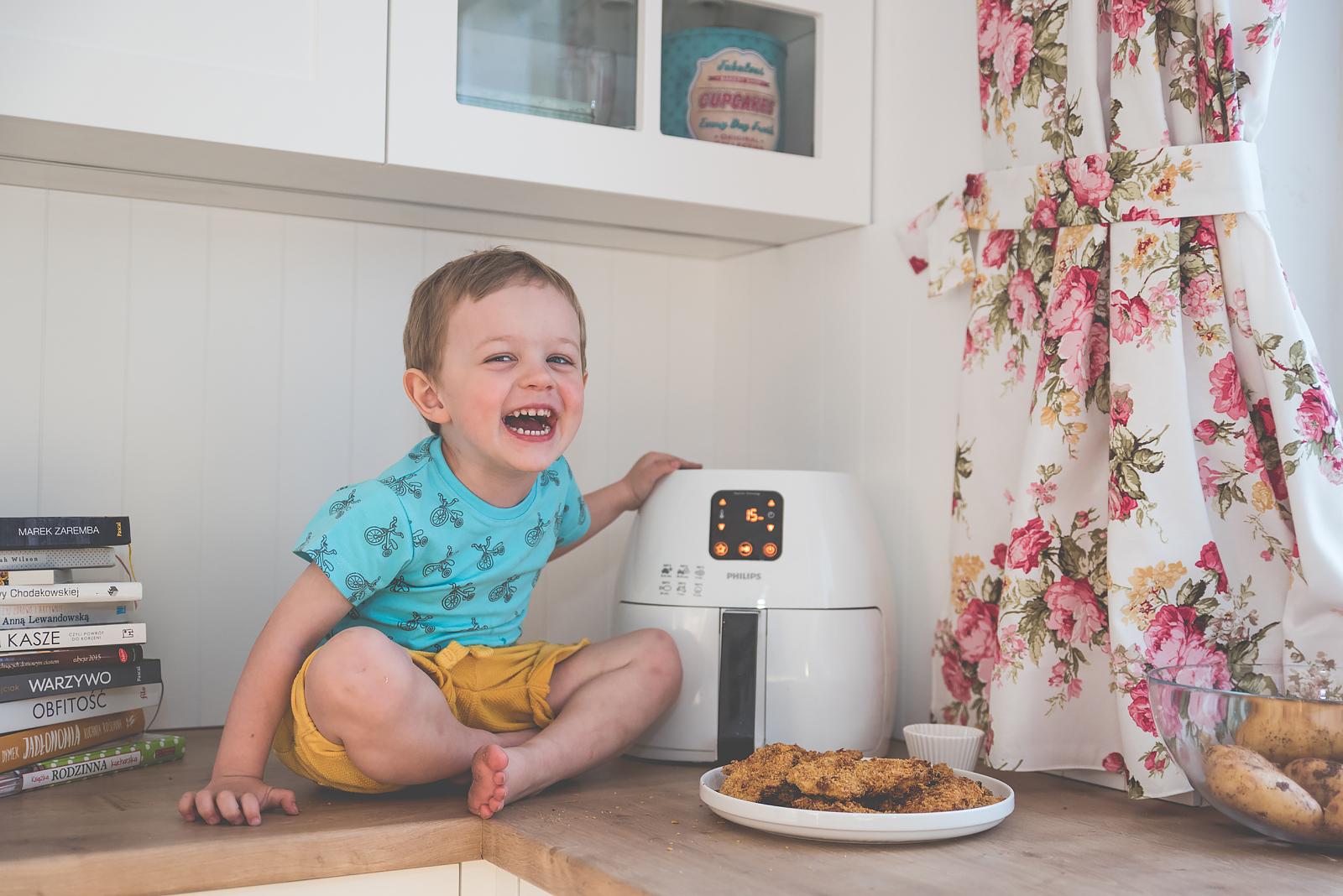 Philips Airfryer Przepisy Test Bakusiowo Domowe Frytki KFC w domu00039