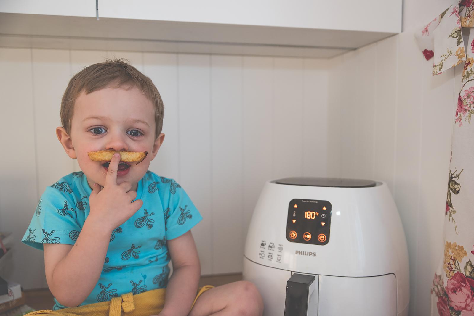 Philips Airfryer Przepisy Test Bakusiowo Domowe Frytki KFC w domu00041