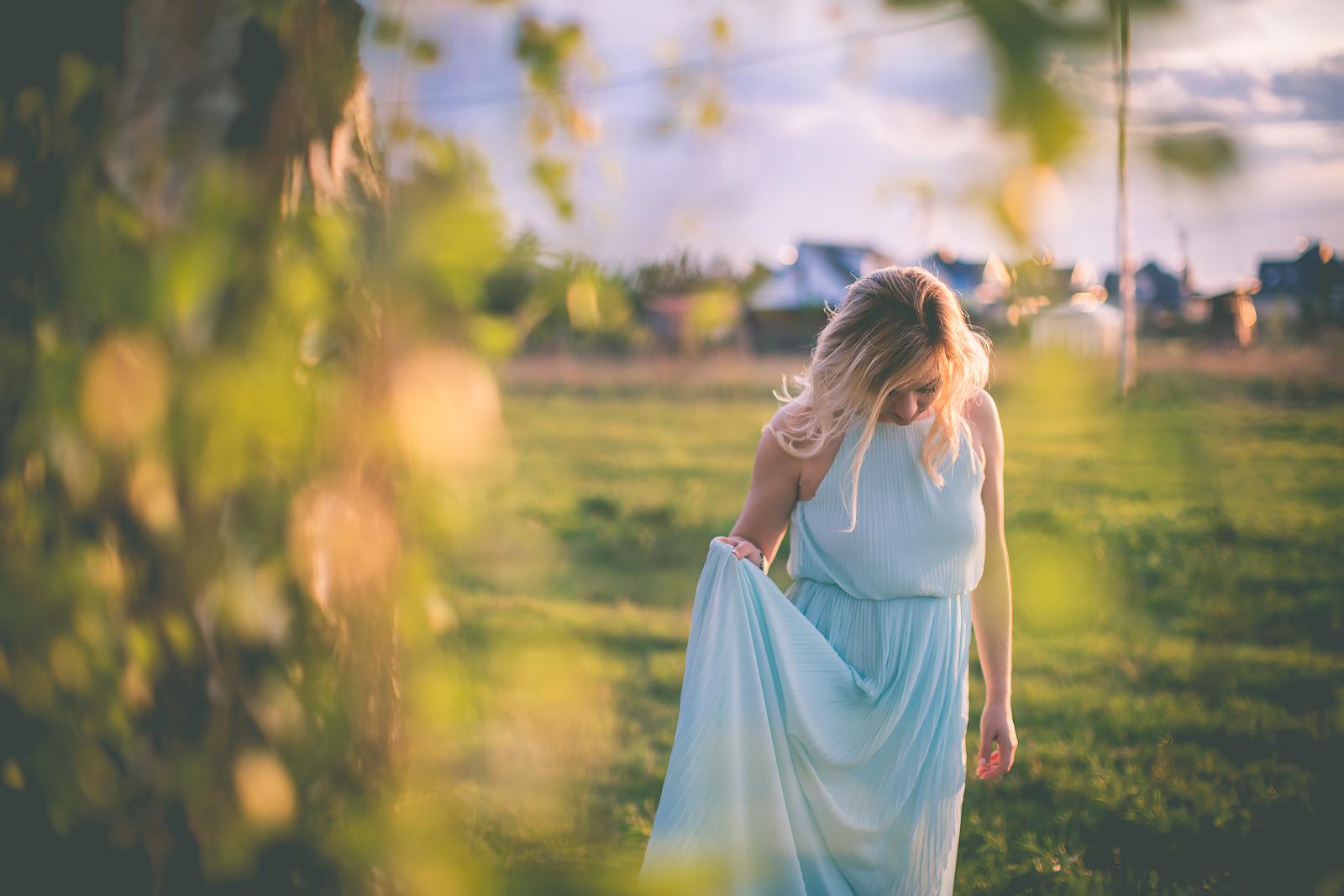 Stylizacja z dluga sukienka dluga sukienka mohito blog modowy00008