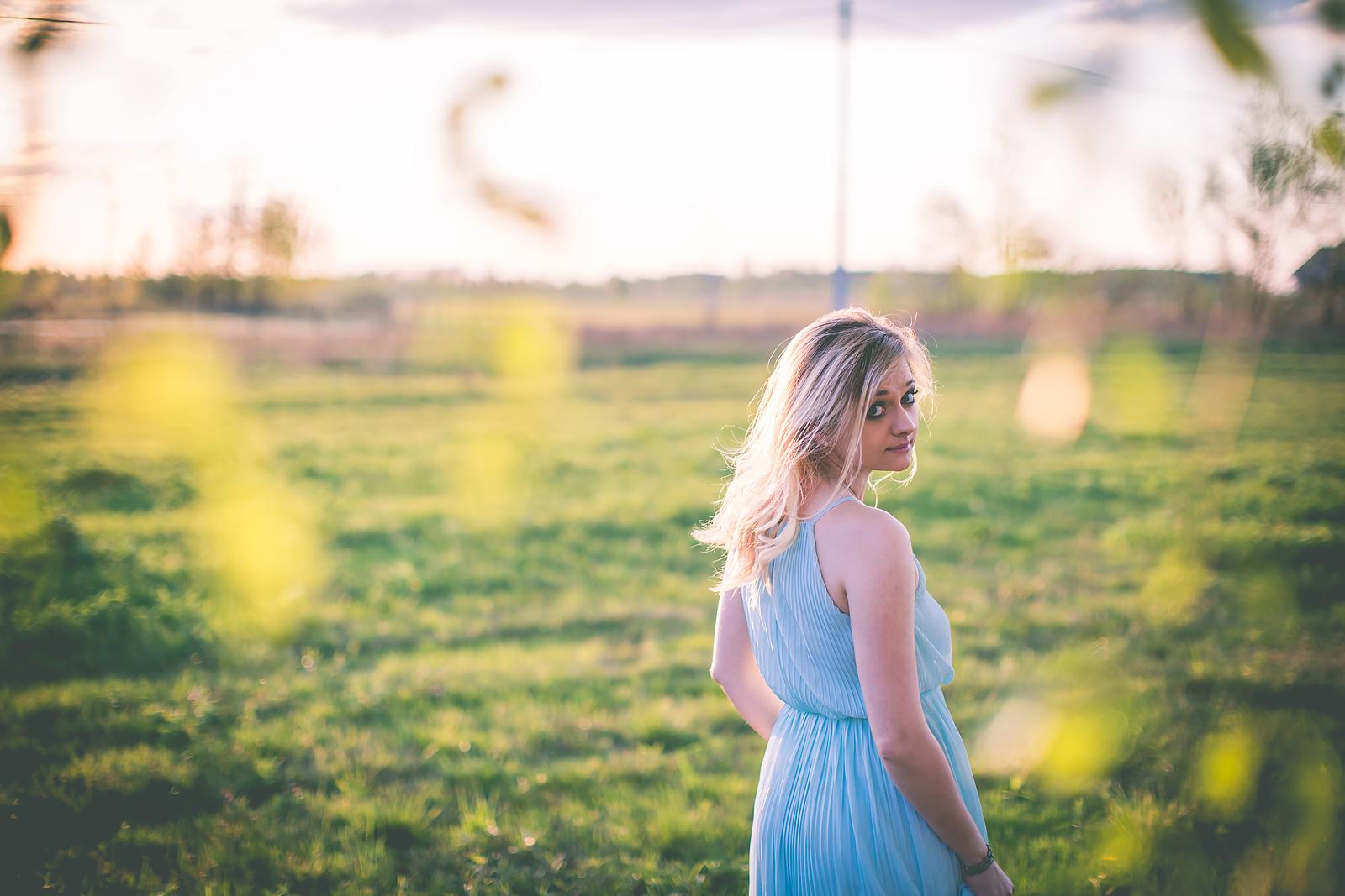 Stylizacja z dluga sukienka dluga sukienka mohito blog modowy00009