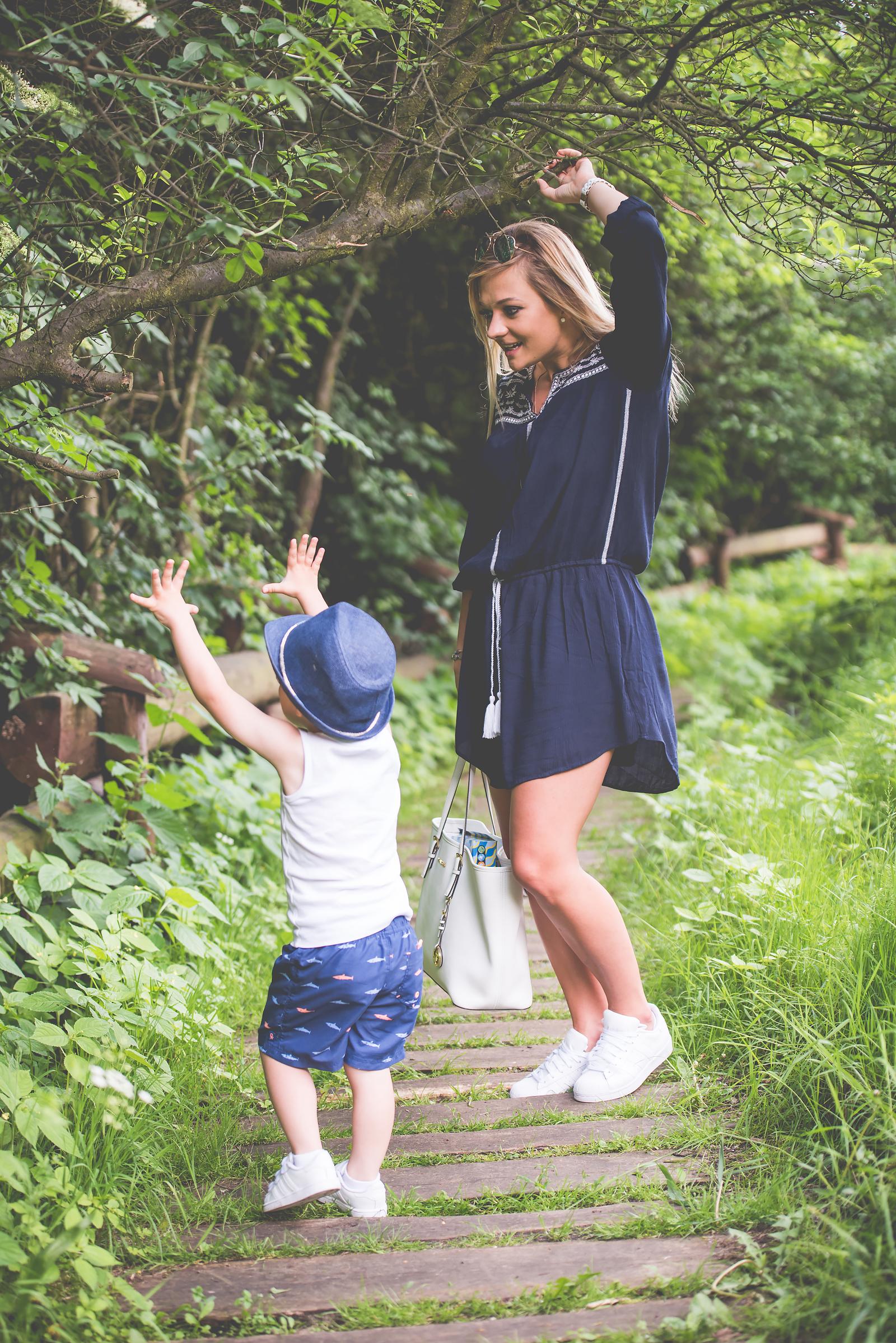 Blog Modowy Wedel Las Brodnowski Zalando Sukienka Boho GAP Adidas Superstar Blogerka Modowa00035