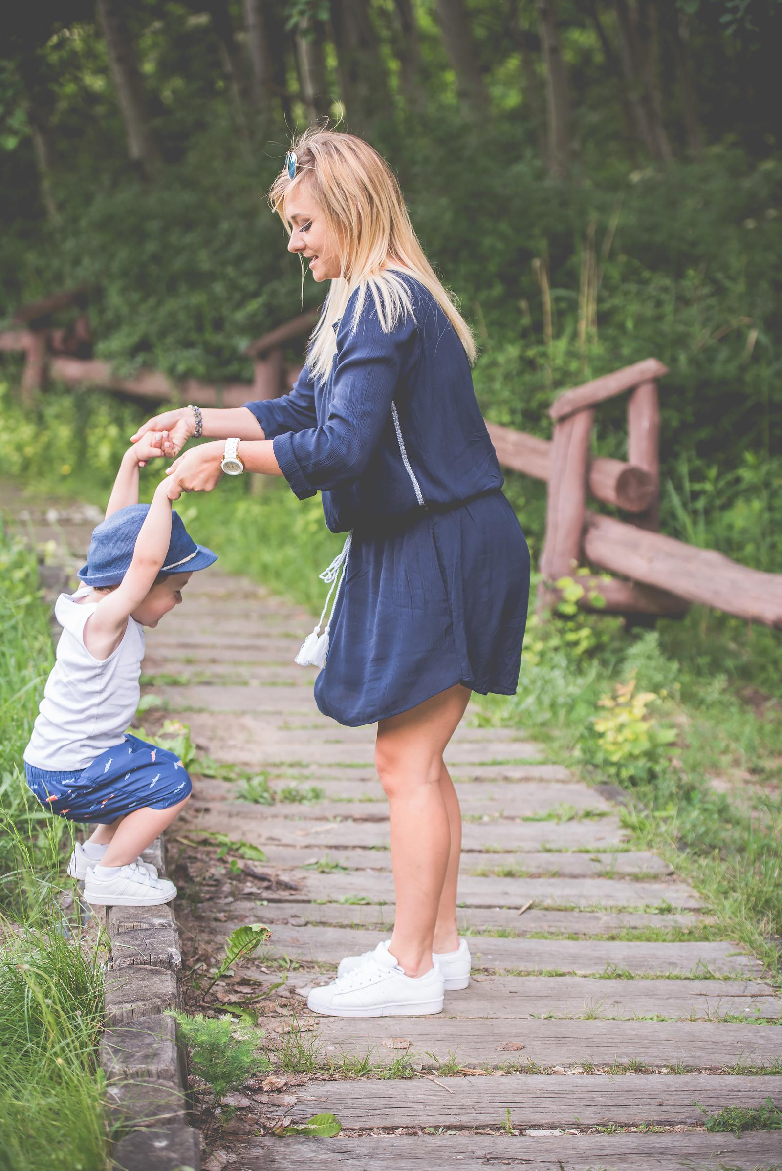 Blog Modowy Wedel Las Brodnowski Zalando Sukienka Boho GAP Adidas Superstar Blogerka Modowa00045