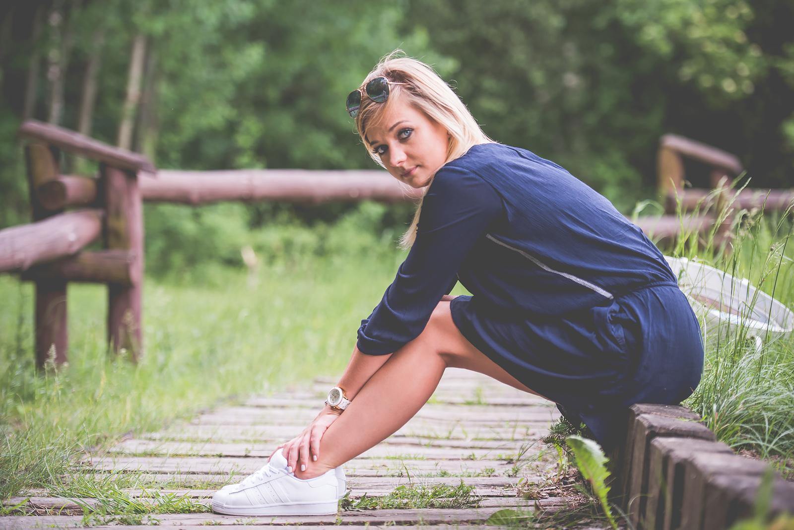 Blog Modowy Wedel Las Brodnowski Zalando Sukienka Boho GAP Adidas Superstar Blogerka Modowa00051