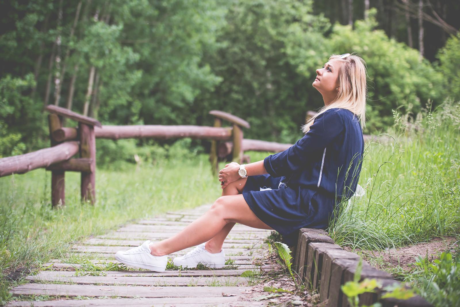 Blog Modowy Wedel Las Brodnowski Zalando Sukienka Boho GAP Adidas Superstar Blogerka Modowa00052