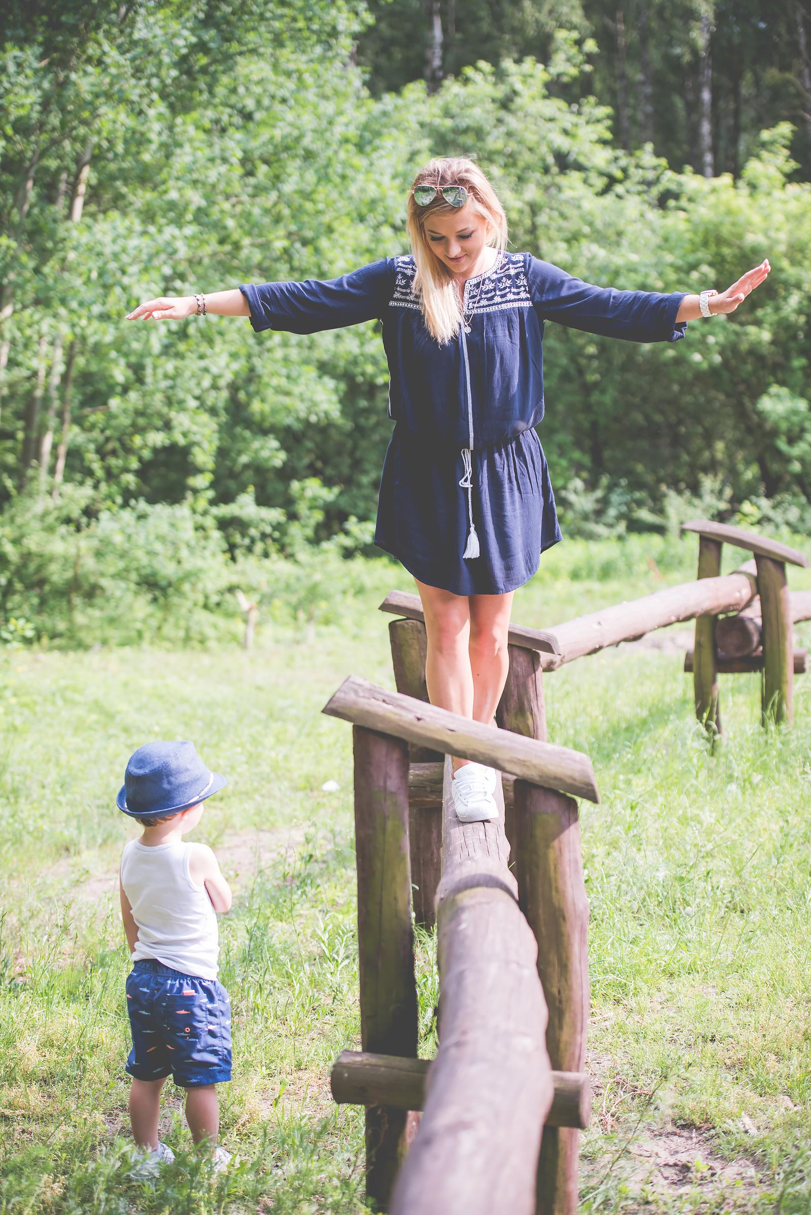 Blog Modowy Wedel Las Brodnowski Zalando Sukienka Boho GAP Adidas Superstar Blogerka Modowa00062