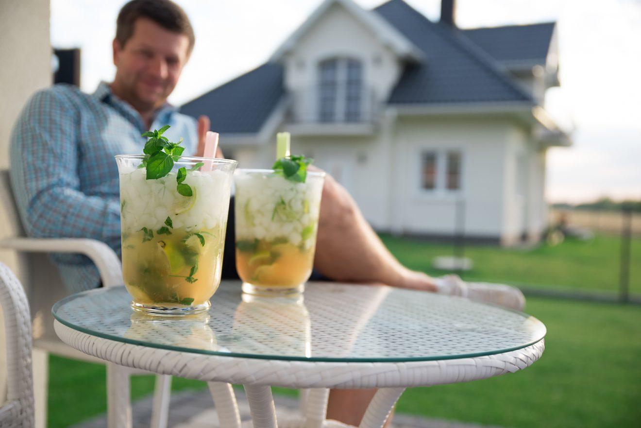 Jak zrobić MOJITO DRINK … w wazonie? :)