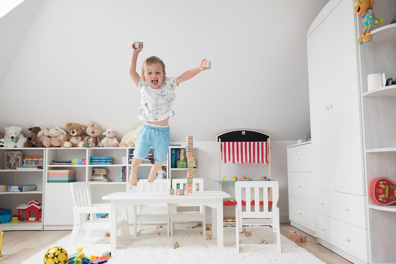 Jak wygląda pokój mojego dziecka po pół roku użytkowania?