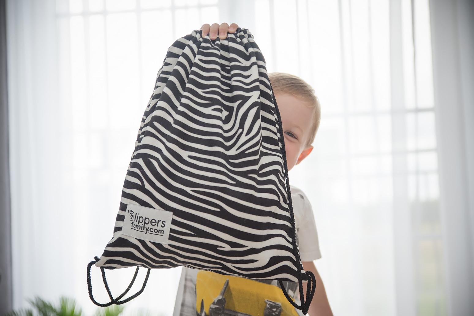 kapcie dla dziecka worek na kapcie
