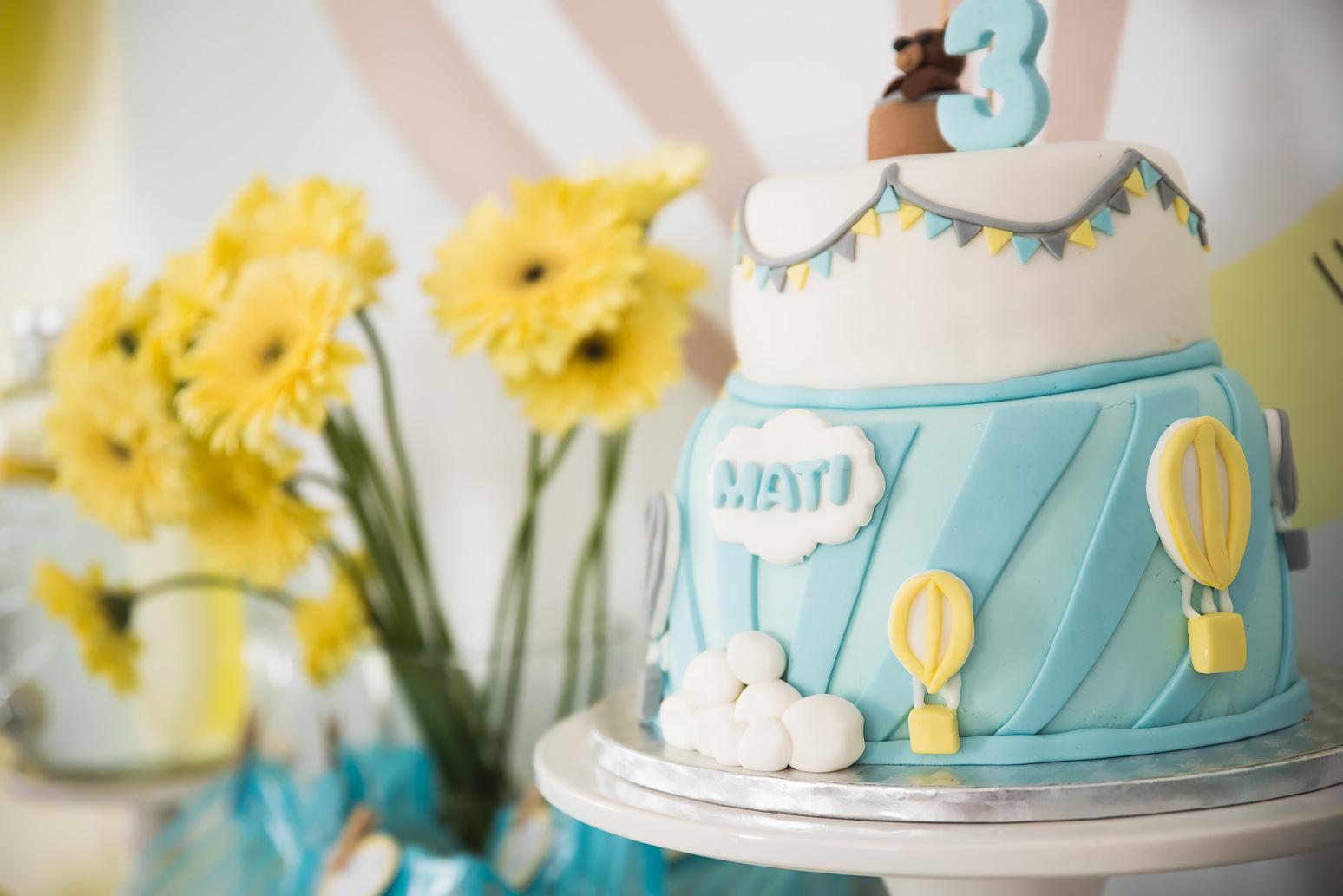 tort z girlanda