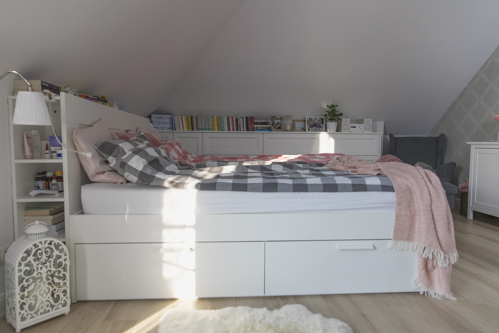 Sypialnia IKEA Bakusiowo9