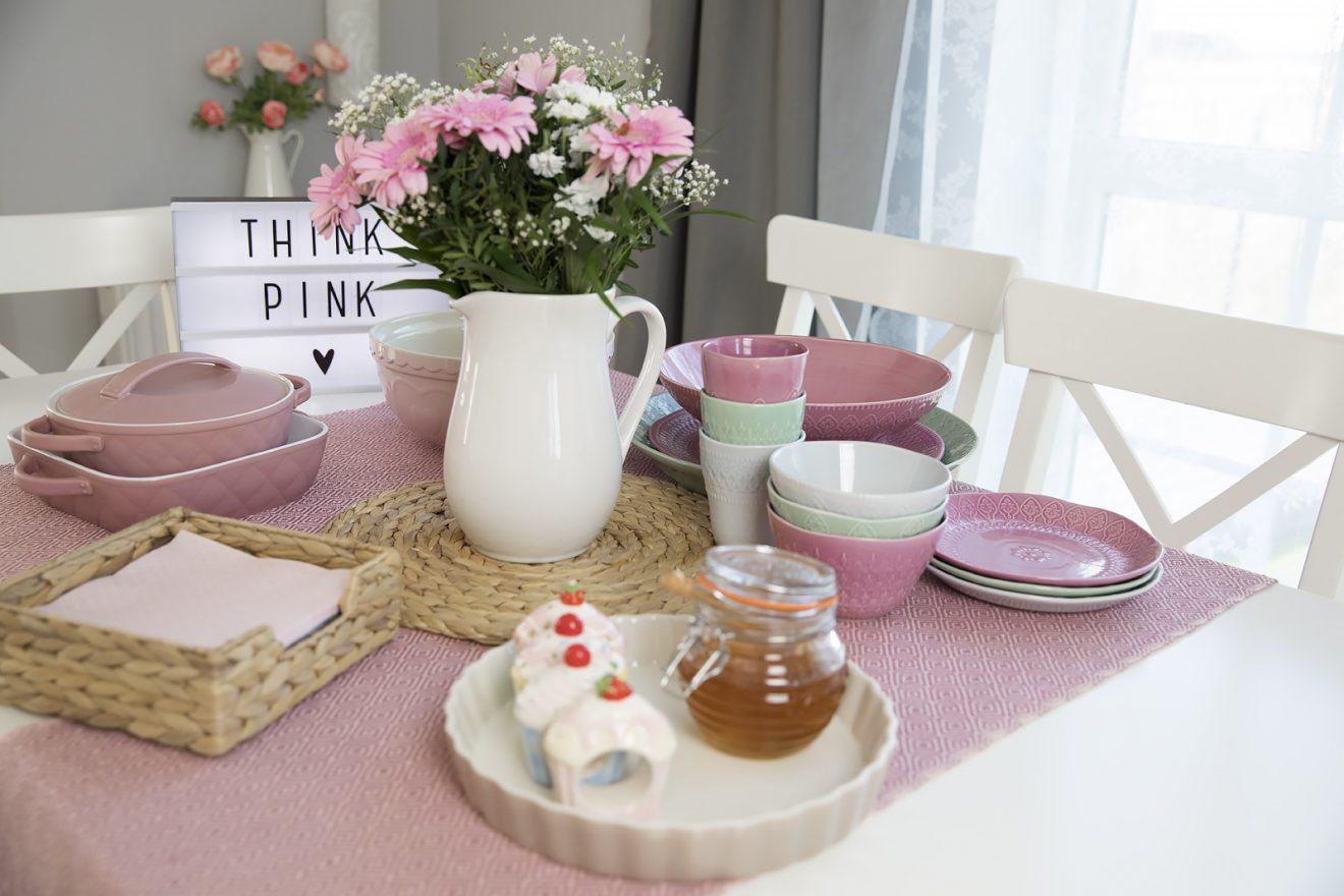 Różowe nowości do naszej kuchni i jadalni!