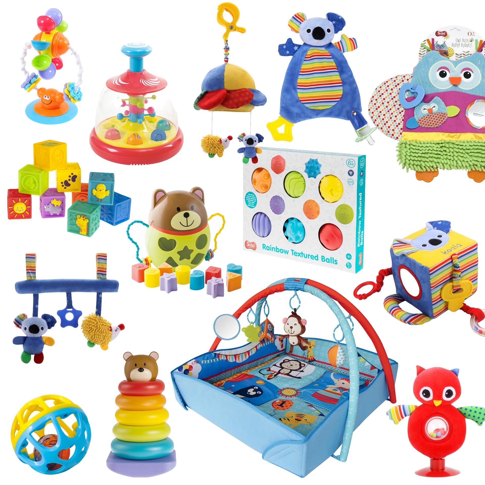 14 Niedrogich I Jakościowych Zabawek Dla Niemowlaka
