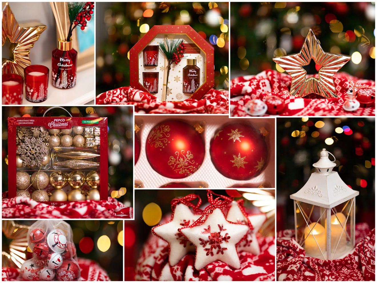 Piękne dekoracje świąteczne po 15 zł średnio! 😍🎄