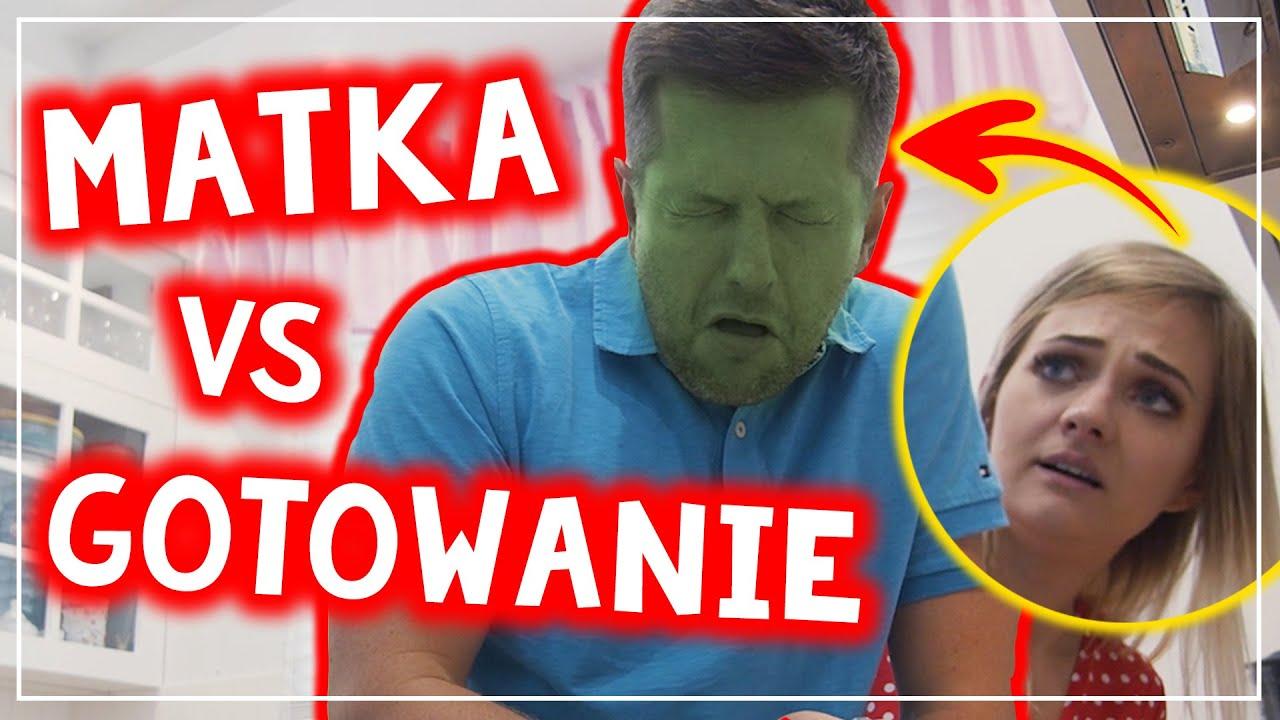 MATKA VS GOTOWANIE 😱💥