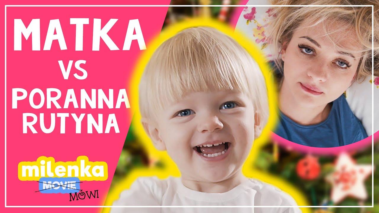 💥 TYPOWA MATKA vs PORANNA RUTYNA #MilenkaMówi 😂 (PARODIA MORNING ROUTINE)
