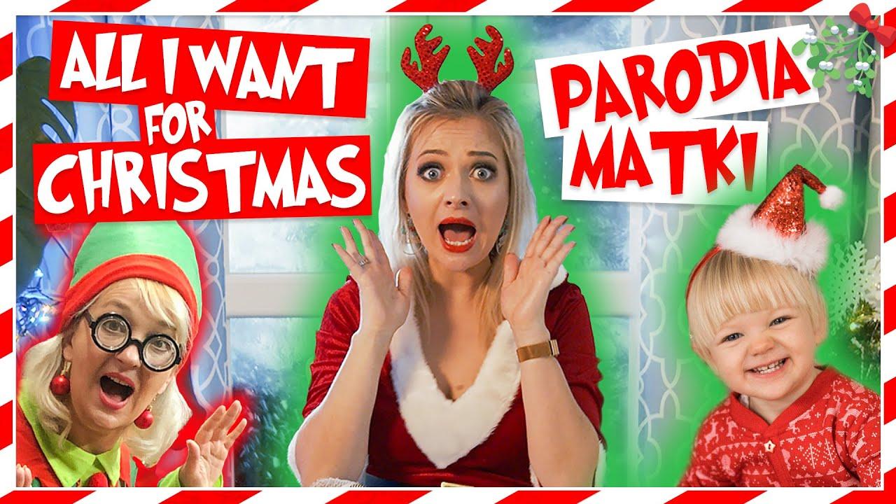 ALL I WANT FOR CHRISTMAS – PARODIA MATKI 😂💥