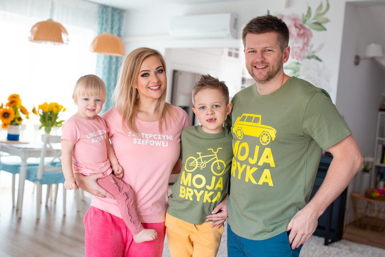 52 koszulki/body dla dzieci i RODZICÓW!👨👩👧👦 Nareszcie z polskimi napisami😍