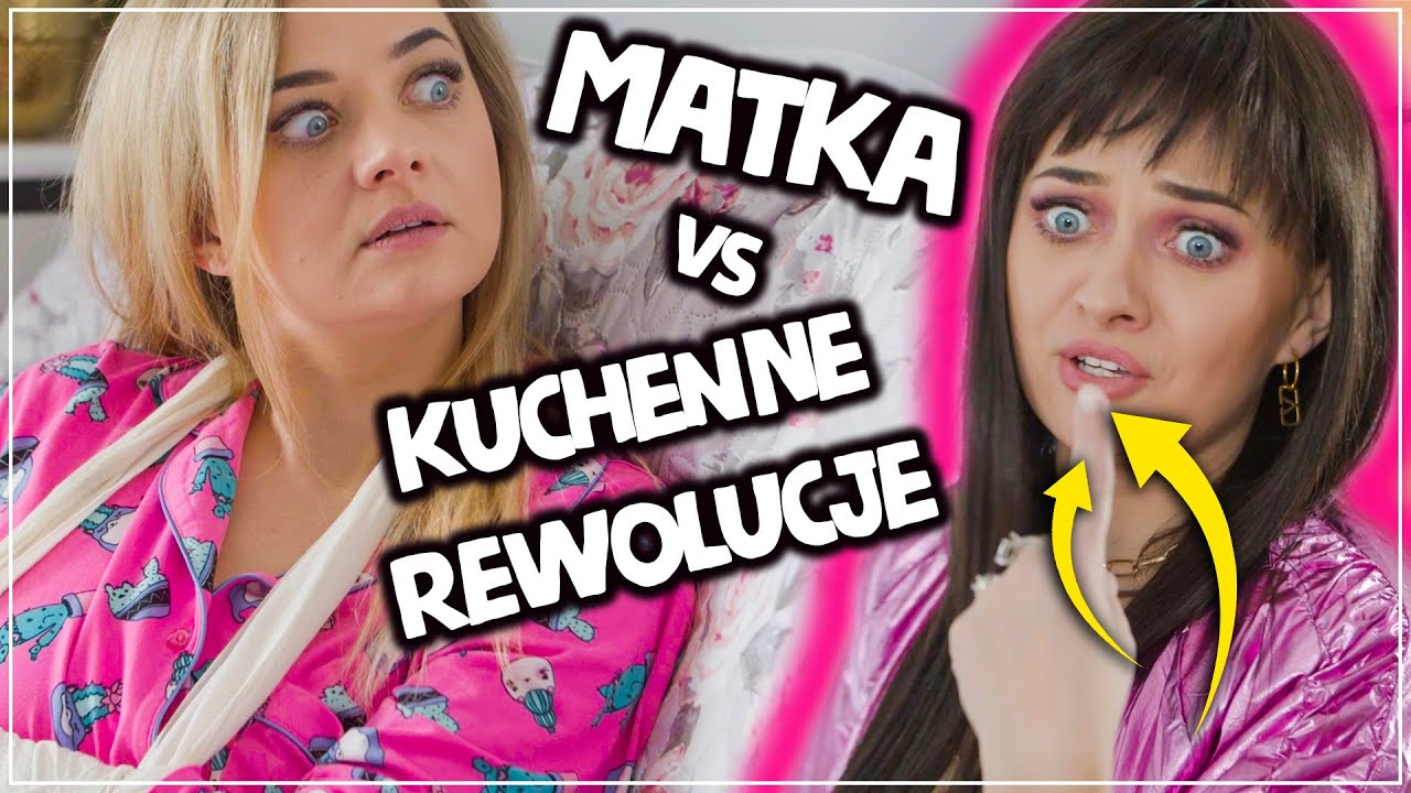 🤣 MATKA VS KUCHENNE REWOLUCJE #Żanet 2 🔥