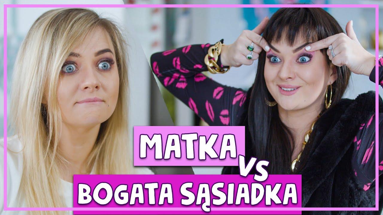 MATKA vs BOGATA SĄSIADKA 🤣 #ŻANET odc. 1🔥